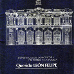 Querido-Leon-Felipe-1979-Programa-de-mano-Portada