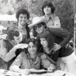 Juan Carlos Uviedo con Olivier Debroise Mario Ficachi Sara Minter Miguel Brown y Hector de Anda 1972